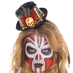 Witch Doctor Top Hat - Halloween Hat