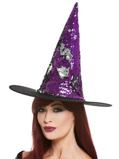 Witches Hat with Reversible Sequins