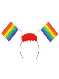 Rainbow Pride Flag Headband