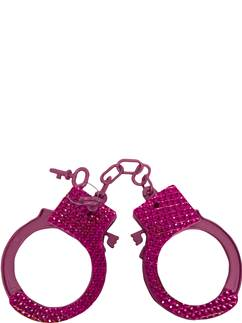 Pink Jewelled Handcuffs