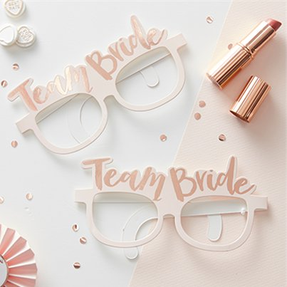 'Team Bride' Hen Party Glasses