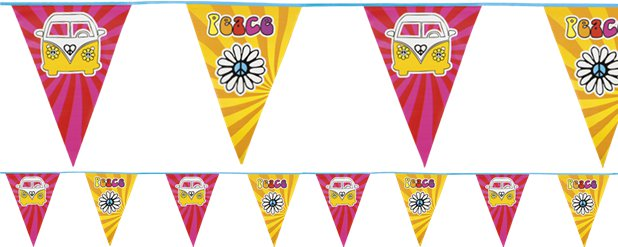Hippie Flag Bunting - 6m