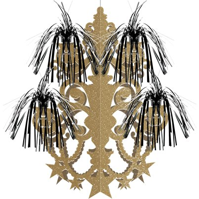 Hollywood Chandelier Hanging Decoration