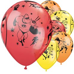 "The Incredibles Balloons - 12"" Latex"