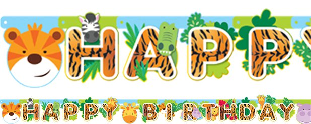 Animal Friends Letter Banner