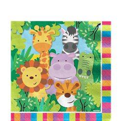 Animal Friends 2ply Napkins