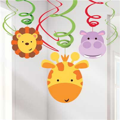 Animal Friends Swirl Decoration