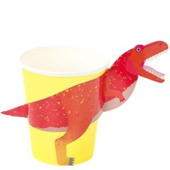 Little Party Dino 3D Paper Cups