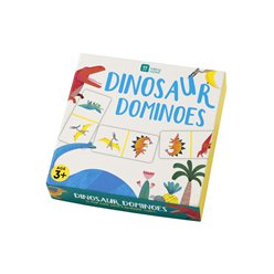 Little Party Dino Dominoes Game