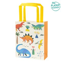 Little Party Dino Party Bags - Paper Treat Bags