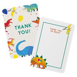 Little Party Dino Thank You Cards