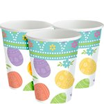 Lovely Easter Cups - 266ml Paper Party Cups