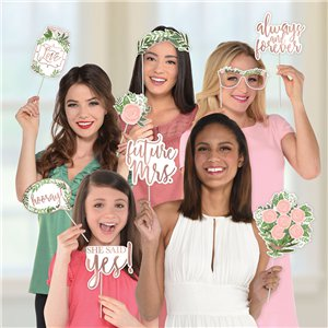 Love & Leaves Photo Booth Props
