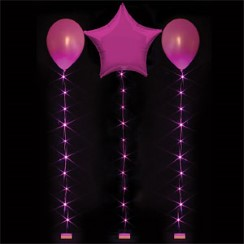 Hot Pink Balloon Lights - 1m