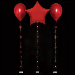 Red Balloon Lights - 1m