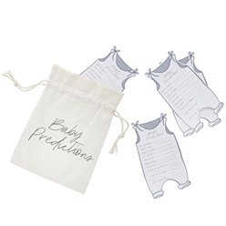 Hello Little One Prediction Cards & Canvas Bag