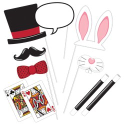 Magic Party Photo Booth Props Set