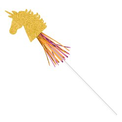 Magical Unicorn Paper Wands