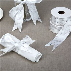 Scripted Marble Printed Ribbon - 38mm