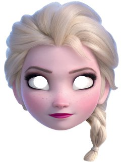 Disney Frozen 2 Elsa Mask