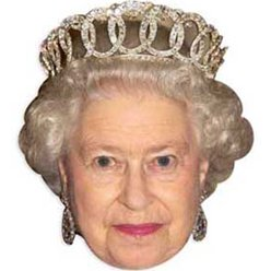 Queen Elizabeth Mask