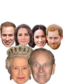 Royal Couples - Pack of 6