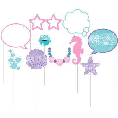 Mermaid Shine Photo Booth Props