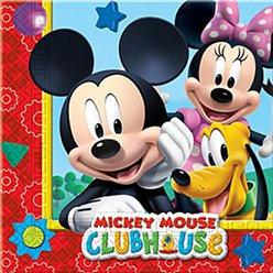 Mickey Mouse Napkins - 2ply Paper