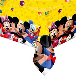 Mickey Mouse Party Tablecover - Plastic