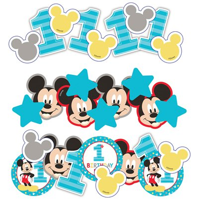 Baby Mickey Fun One Confetti
