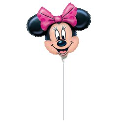 "Minnie Mouse Mini Foil Balloon - 9"" Foil"