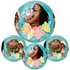 "Disney Moana Clear Orbz Balloon 16"" Foil"
