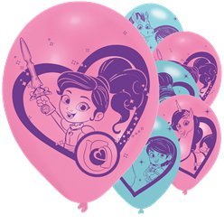 "Nella The Princess Knight Balloons - 12"" Latex"