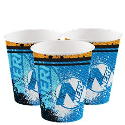 Nerf Party Cups - 266ml paper Cups