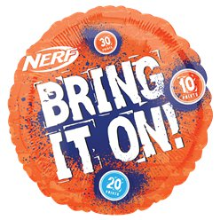 "Nerf Party Balloon - 18"" Foil Balloon"