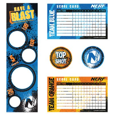 Nerf Party Target Game