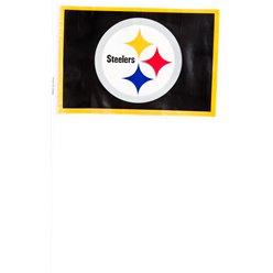 NFL Pittsburgh Steelers Plastic Handwaving Flags