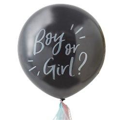 "Oh Baby Giant Gender Reveal Balloon Kit - 36"" Latex"