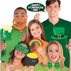 St Patricks Day Photo Booth Props