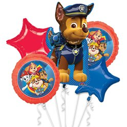 Paw Patrol Balloon Bouquet - Assorted Foil