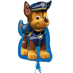 "Paw Patrol Chase Supershape Balloon - 23"" Foil"
