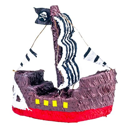 Pirate Ship Piñata - 40cm tall