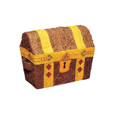 Treasure Chest Piñata - 31cm tall