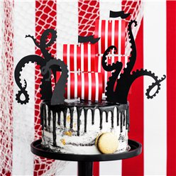 Pirate Flag and Octopus Cake Decorating Kit