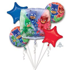PJ Masks Balloon Bouquet - Assorted Foil