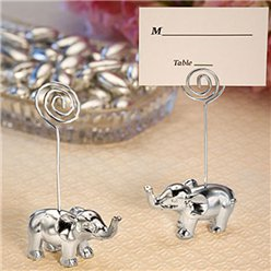 Silver Finish Elephant