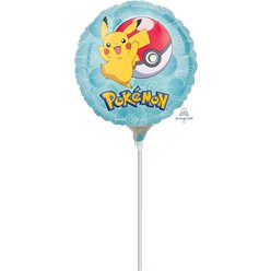 "Pokemon Airfilled Mini Balloon - 9"" Foil"