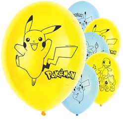 "Pokémon Balloons - 11"" Latex"