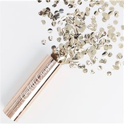 Pick & Mix Rose Gold Confetti Cannon - 15cm