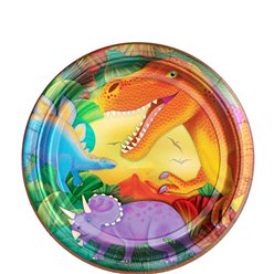 Prehistoric Party Large Paper Plates
